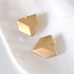 Triangle Arrowhead Dangle Earrings